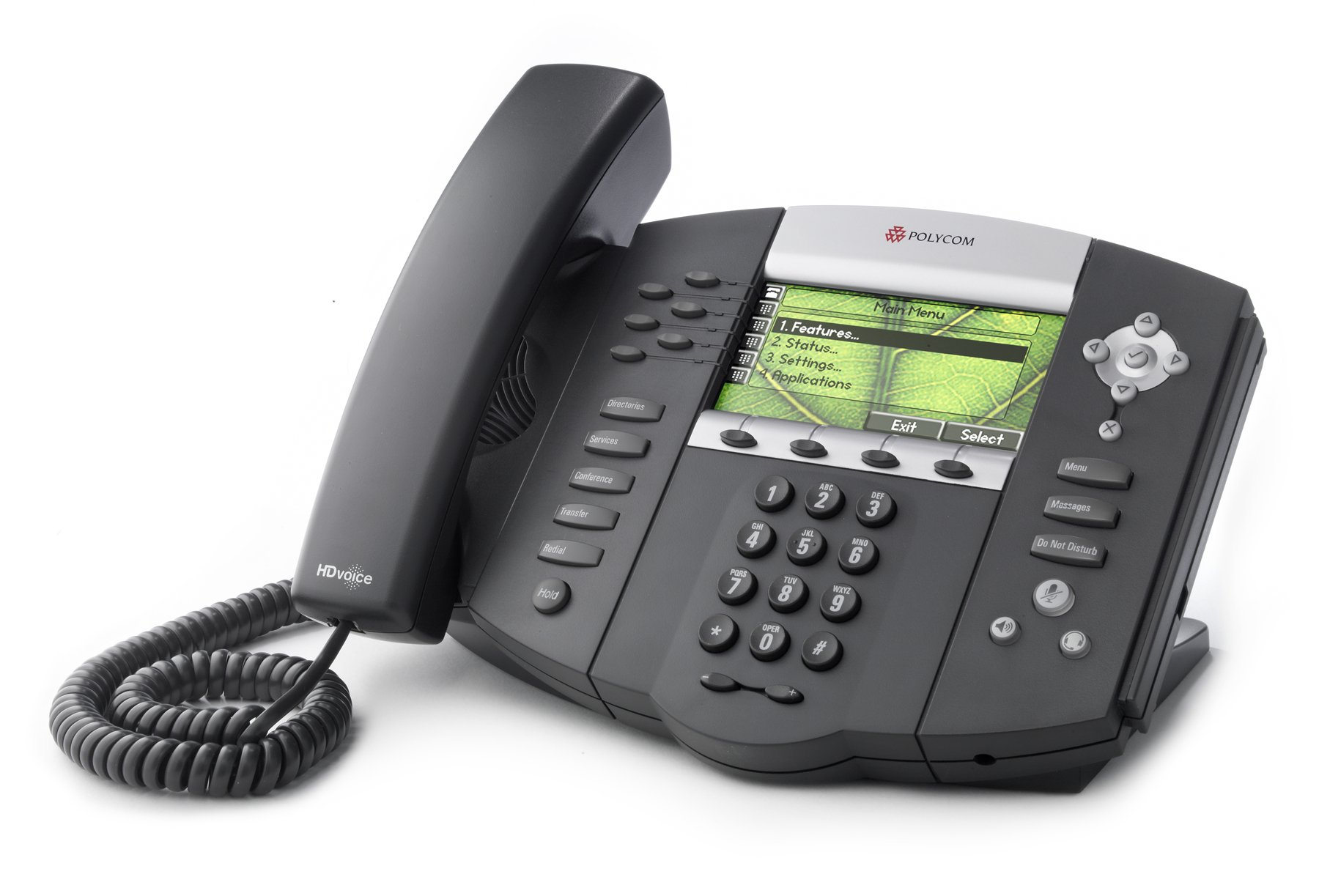 Larger view of Polycom SoundPoint IP 670 VoIP Telephone.